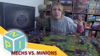 Mechs vs Minions Review - The 1HP Board Game