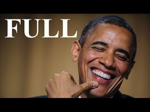 Full speech Barack Obama White House Correspondents Dinner 2016.  President Obama April 30