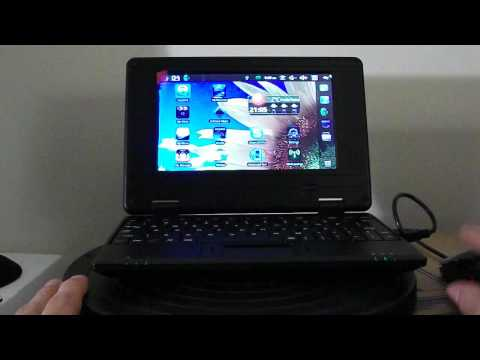 "V712 10"" Screen Android 4.0 Netbook w/ Wi-Fi / RJ45 / Camera / HDMI"