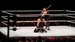 Roman Reigns VS Kevin Owens 2017 Street Fight