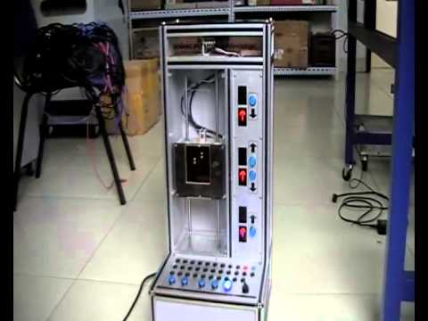 DLFA-DT33 three floor elevator training set