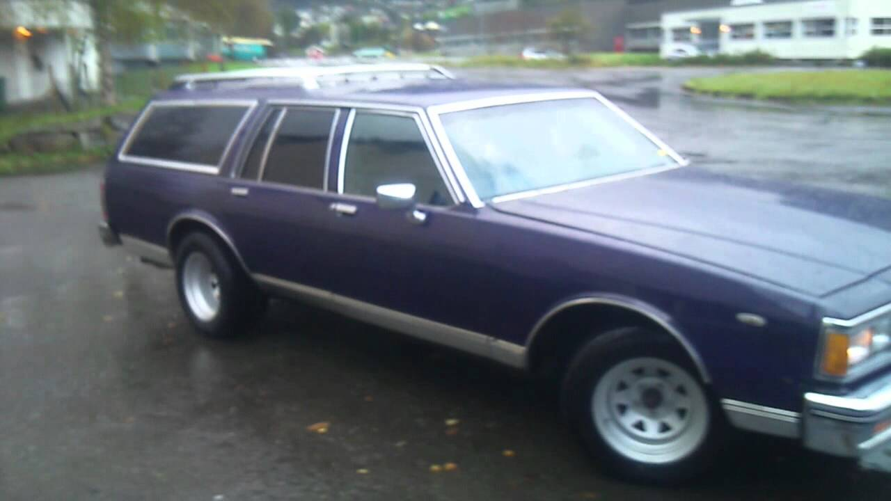 Roof flexing bass chevy 1980 caprice station wagon classic youtube