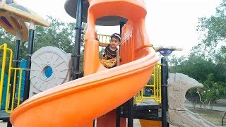 Outdoor Kids Play Area with Joy   குழந்தைகள் விளையாட்டு