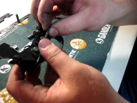 Winchester 1200 , 1300 , 120 ranger trigger group disassembly reassembly