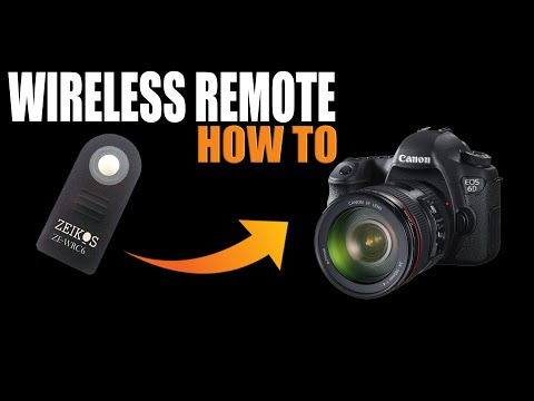 wireless remote for canon