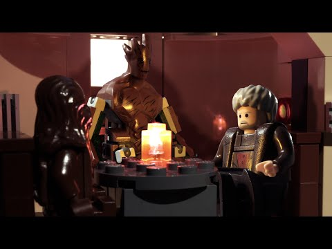 LEGO Groot. Hodor. and Chewbacca: