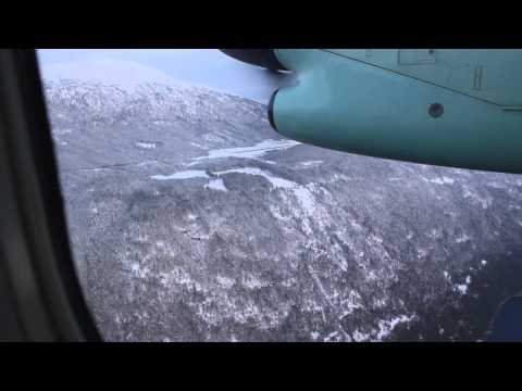 [Full Flight] Oslo - Sogndal - Sandane with Widerøe Dash 8 a Magical Christmas Morning!