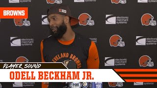 "Odell Beckham Jr.: ""The goal is to win every game, I don't care who we're playing"""