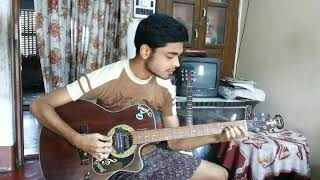 Sei Je Holud Pakhi Song Cactus Guitar (Cover) by Rimon Chatterjee