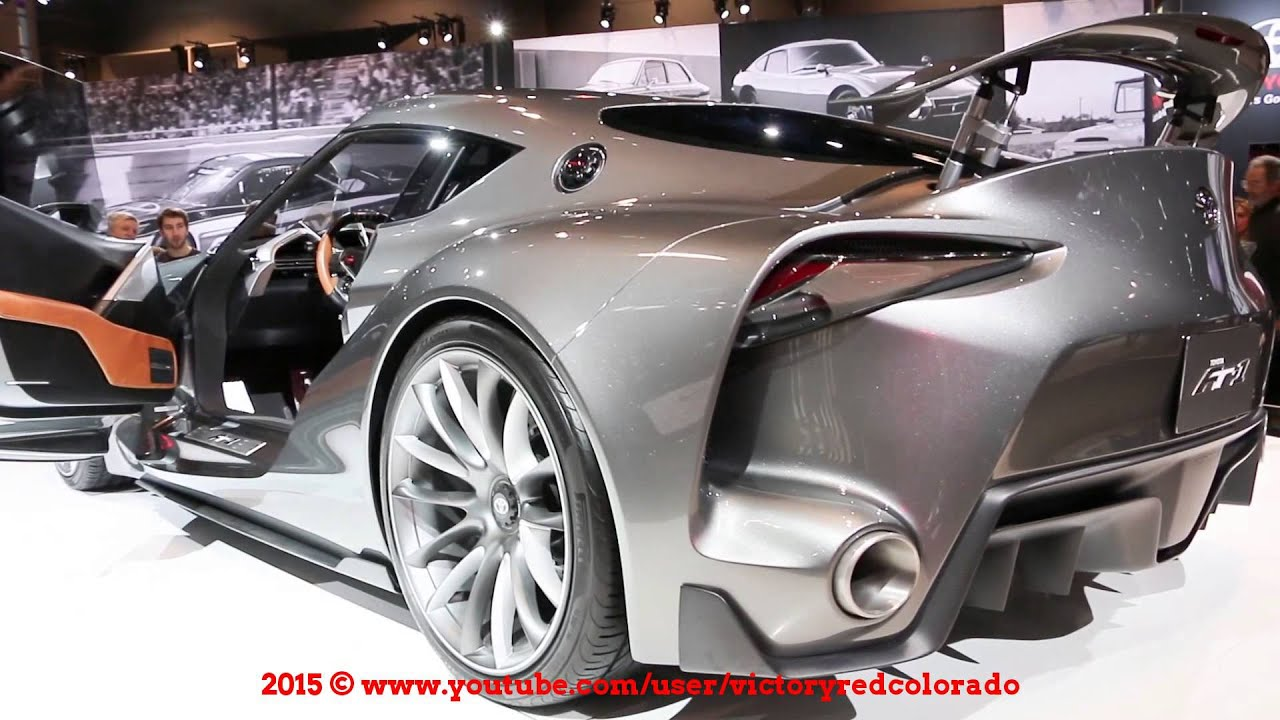 TOYOTA FT1 AT 2015 CHICAGO AUTO SHOW - YouTube watch Ft1! 2016 toyota