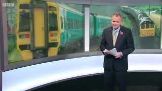 BBC Wales Today, 29/10/2014 - Bow Street freight segment