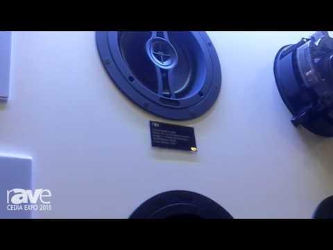 CEDIA 2015: Optimal Speaker Design Shows Off the Black Series of In-Ceiling Architectural Speakers