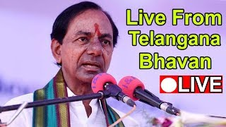 CM KCR Press Meet at Telangana Bhavan || KCR || Live || Telangana Elections 2018