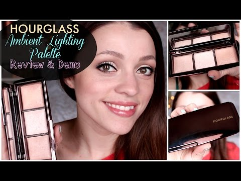 Hourglass Ambient Lighting Palette   Review/Demo/Dupe