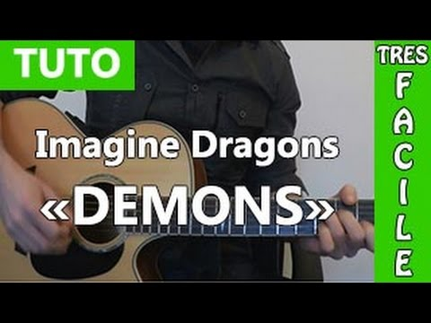 Imagine Dragons - Demons - Tuto Guitare ( Facile ) video