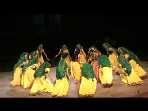 Girls Dancing : Radha Krishna Raas video