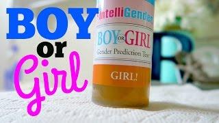 BOY OR GIRL?! INTELLIGENDER TEST!