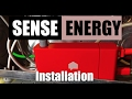 Sense home energy monitor unboxing and installation mp3