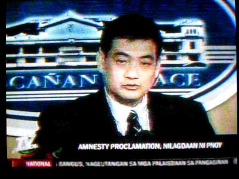 Antonio Trillanes, Applied for Amnesty for Leading Oakwood Mutiny, ...