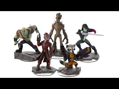 The Guardians of the Galaxy Join Disney Infinity: Marvel Super Heroes - Comic Con 2014