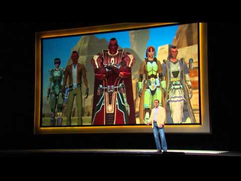 Watch as EA presents Star Wars The Old Republic in this live recording from the 2012 gamescom press conference in Cologne, Germany.