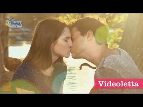 Violetta 3 English: Fran And Diego Kiss Ep.20