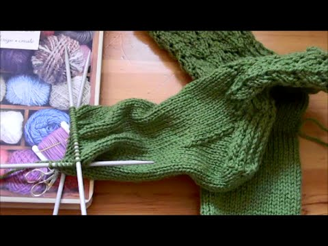 Knitting Socks Picking Up Stitches At Gusset : Working Socks5 :: VideoLike