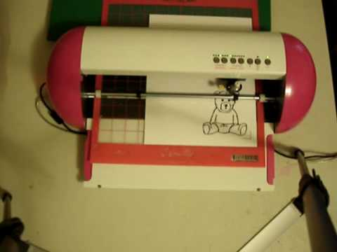 Boss Kut Gazelle print & cut demo