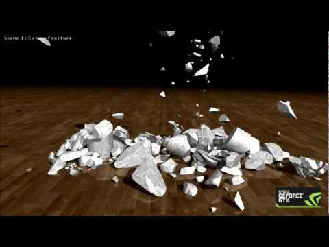 NVIDIA GeForce GTX 680 Fracture Demo