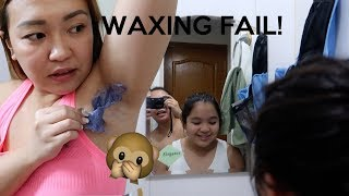 WAXING FAIL AT ANG SKINCARE NI JEYA! - anneclutzVLOGS