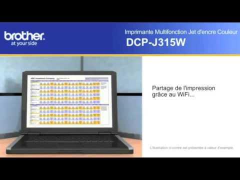 Abix DCP-J315W de Brother