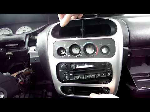 Dodge Neon Radio Removal