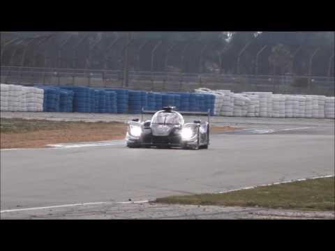 New P2 Ligier Testing at Sebring Raceway