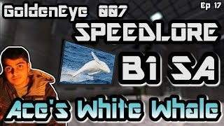 BUNKER 1 SPEEDLORE - Ace's White Whale (GoldenEye 007 - Secret Agent)