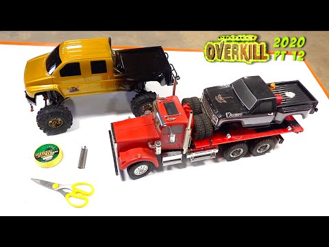 """PROJECT """"OVERKiLL"""" 2020 - PT 12: DiESEL STACKS & DUAL 100lb YELLOW WiNCH LiNE 