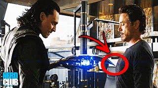 A Verdadeira Razão de o porque Loki não conseguiu controlar Tony Stark.