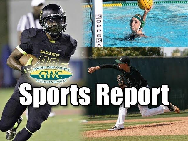 Golden West College Sports Report 3/11/14