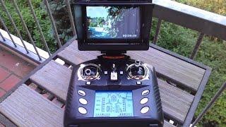WLtoys V686G 4 Kanal Quadrocopter Mit Camera Und LCD Display Vorstellung