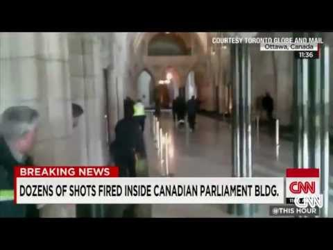 Canada Under Attack: Soldiers Killed - Institutions On Lockdown