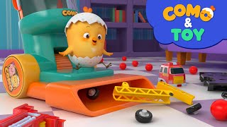 Como | Vacuum Cleaner  | Learn colors and words | Cartoon video for kids | Como Kids TV