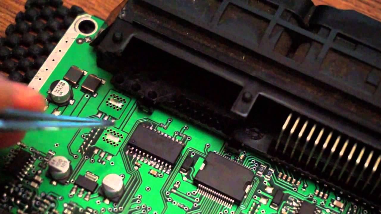 Блок управления двигателем ремонт своими руками 95