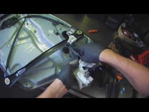 VW B5: Passat Driver Door Lock Module replacement
