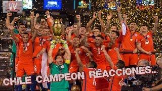 Final Chile v/s Argentina/Penales /Chuchadas y demás // Copa América Centenario 2016 ¡Chile Campeón¡
