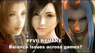 Will gear/combat stats/levels transition across FF7 remake games?