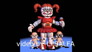 FNAF SL Baby sing-FNAF song