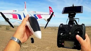 XK X520 (FPV Version) VTOL RC Airplane Flight Test Review