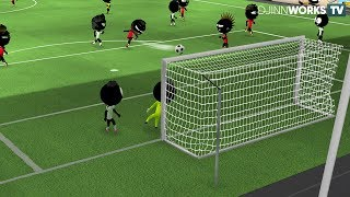 Stickman Soccer 2018 (by Djinnworks GmbH) Android Gameplay [HD]