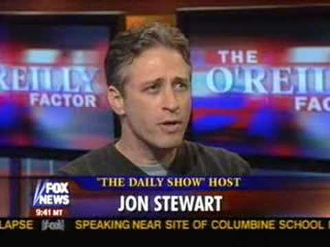 Jon Stewart on the O'Reilly Factor
