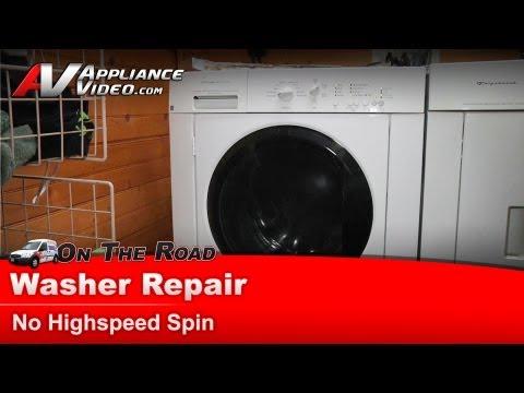 frigidaire washing machine not draining