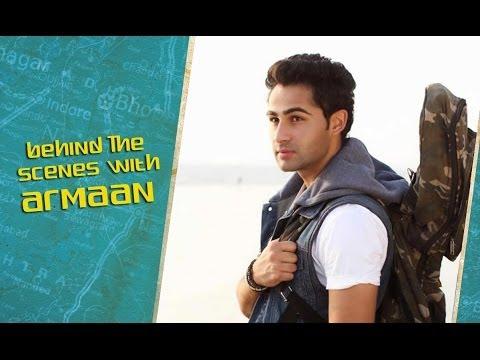 Lekar Hum Deewana Dil | Behind The Scenes | Armaan Jain